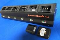 6 Bank Pro Charger(UL/CE)+20(2x10) batteries Symbol MC55/65/67 #BTRY-MC55EAB02..