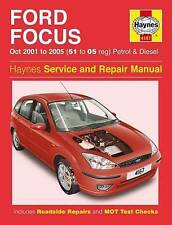 Ford Focus Haynes 4167 Manual 2001-05 1.4 1.6 1.8 2.0 Petrol 1.8 TDDI