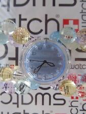 Swatch Crystal Summer PMK146B 2002 Spring Summer Collection Pop 32mm