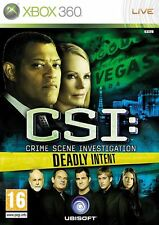 CSI CRIME SCENE INVESTIGATION - DEADLY INTENT XBOX 360 GAME