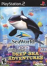 SeaWorld: Shamu's Deep Sea Adventures (Sony PlayStation 2, 2005)  FAST SHIPPING