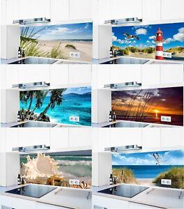 Küchenrückwand selbstklebend 1000 Motive Hart-PVC 0,4 mm Spritzschutz _