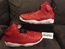 Nike Air Jordan 6 VI Retro Spizike Red Green Black White 11.5 DS