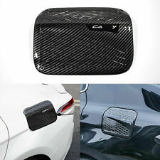 Sport Carbon Fiber Style Fuel Tank Cap Cover Trim for Toyota Camry 2018 2019 NEW