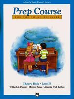 Alfred's Basic Piano Library : Prep Course Theory Book Level B, Paperback by ...