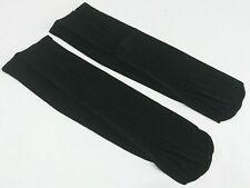 Berkshire ladies black sheer support knee-high sandalfoot socks