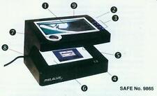 Safe Philalux 3 9865 New with Transformer for 110V, US Plug
