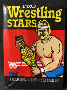 1985 Topps WWF Pro Wrestling Stars Unopened Wax Pack - CLEAN-RARE!