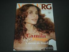 2005 VOGUE RG REGISTRO GERAL NO. 42 MAGAZINE - CAMILA PITANGA COVER - K 1588