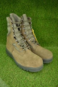 Belleville 600 ST Men's Military USAF Sage Green Safety Toe Combat Boots 13 R