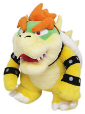 "NWT Little Buddy 1423 Super Mario Bros All Star Collection 10"" Bowser Plush Doll"