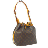 LOUIS VUITTON PETIT NOE SHOULDER BAG PURSE MONOGRAM A2884 M42226 BN04158