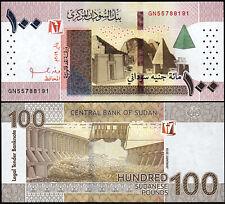 Sudan 100 Pounds 2019, UNC, P-New