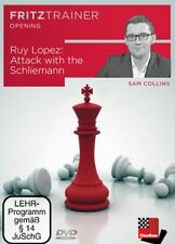 ChessBase Collins Ruy Lopez - Attack with the Schliemann fritztrainer - Spanisch