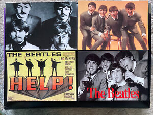 4 Postcards Of The Beatles Unposted