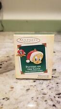 Hallmark Keepsake Christmas Ornament Tweety Bird Looney Tunes Miniature