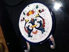 Deruta Italy Italian Pottery Ricco Kitchen / Bath DOUBLE TOWEL HOOK- New!