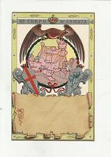 84925 antica cartolina MILITARE 3 III CORPO D' ARMATA
