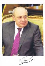 """Armenia Prime Minister Vazgen Manukyan 1946- autograph signed 4""""x6"""" photo"""