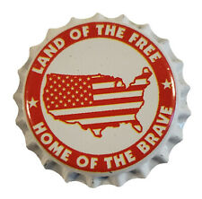 100 Homebrew Beer Bottle Crown Caps 4th of July Decoration Patriotic Home Brew