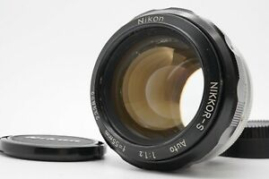 [EXC+5] Nikon Nikkor-S Auto Non Ai 55mm F/1.2 MF Lens For F Mount From Japan