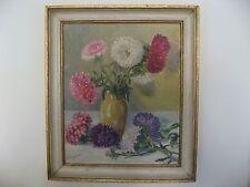 Le bouquet - Huile sur panneau - Tableau - Vers 1920 - Signé Y. Reynier -