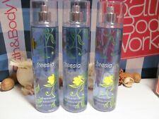 Bath and Body Works Lot of 3 ~ Freesia ~  Fine Fragrance Mist