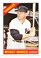 1966 Topps Mickey Mantle #50 Awesome