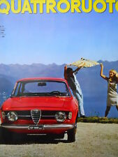 Quattroruote n°130 1966  - Test su strada Maserati 4200 4 Porte   [Q79A]
