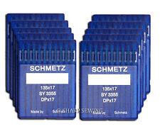 100 SCHMETZ 135X17 #23 SEWING MACHINE NEEDLES fits SAILRITE BIG-N-TALL