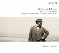 Hommage a Debussy: Works for Piano Vol. 3, New Music