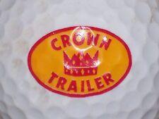 (1) CROWN TRAILER   LOGO GOLF BALL