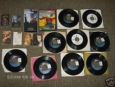 17 Pc. Celine Dion 45 RPM Stuart Little Cassette Tapes