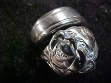 HOWDY DOODY Spoon Ring Size 7  Made from collector spoon