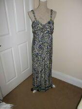 ladies maxi dress size 16 Wallis