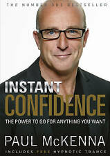 Instant Confidence  (Book and CD), Paul McKenna | Paperback Book | Good | 978059