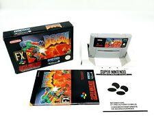 Super Nintendo DOOM Complete [FAH] SNES  ► VGC ◄