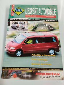 revue technique expert automobile  mercedes vito 96-2003
