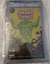 Saga of the Swamp Thing #37 (1985) 1st John Constantine CGC 9.6 WP