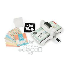 Sizzix Big Shot Starter Kit Grey White Machine Manual Cutter Paper Scrap Book Cu