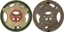Moniteur de Conduite Automobile, bronze, marquage gravé, Coinderoux GS 56 (9148)