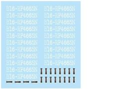 F'artefice FE-0104 1:43 F1 Option decal for tires (5 units)