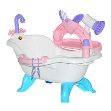 WADER 47267 Puppenbadewanne mit Zubehör Kinderspielzeug Mädchen Puppenzubehör