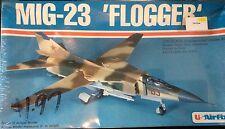 "Vintage 1980 US-Airfix 1:72 ""MIG-23 FLOGGER"" Model Plane Kit#4011"