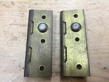 "1 PAIR 3"" x 2"" SOLID BRASS SECURITY BUTT HINGE BAG 9"