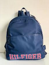NEW! TOMMY HILFIGER NAVY BLUE NYLON TRAVEL WORK BACKPACK BAG PURSE $89 SALE