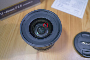 Scratched, As-Is, Tokina AT-X PRO 11-16mm f/2.8 SD MF DX IF AF Lens For Nikon