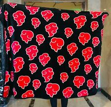 Naurto red Clouds soft Blanket Throw Blankets gift quilt 150x120cm Size S