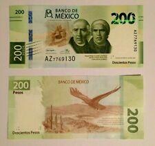 Mexico 2019 new 200 pesos banknote  UNCIRCULATED