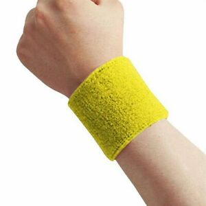 2Pcs Sports Wrist Sweatbands Wristbands Fitness Sweatbands Gym Yoga Unisex
